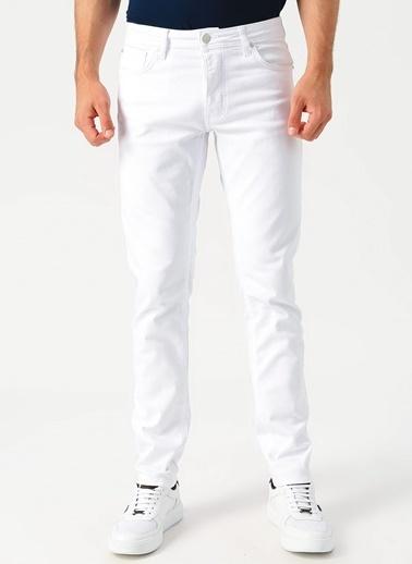 Loft Klasik Pantolon Beyaz